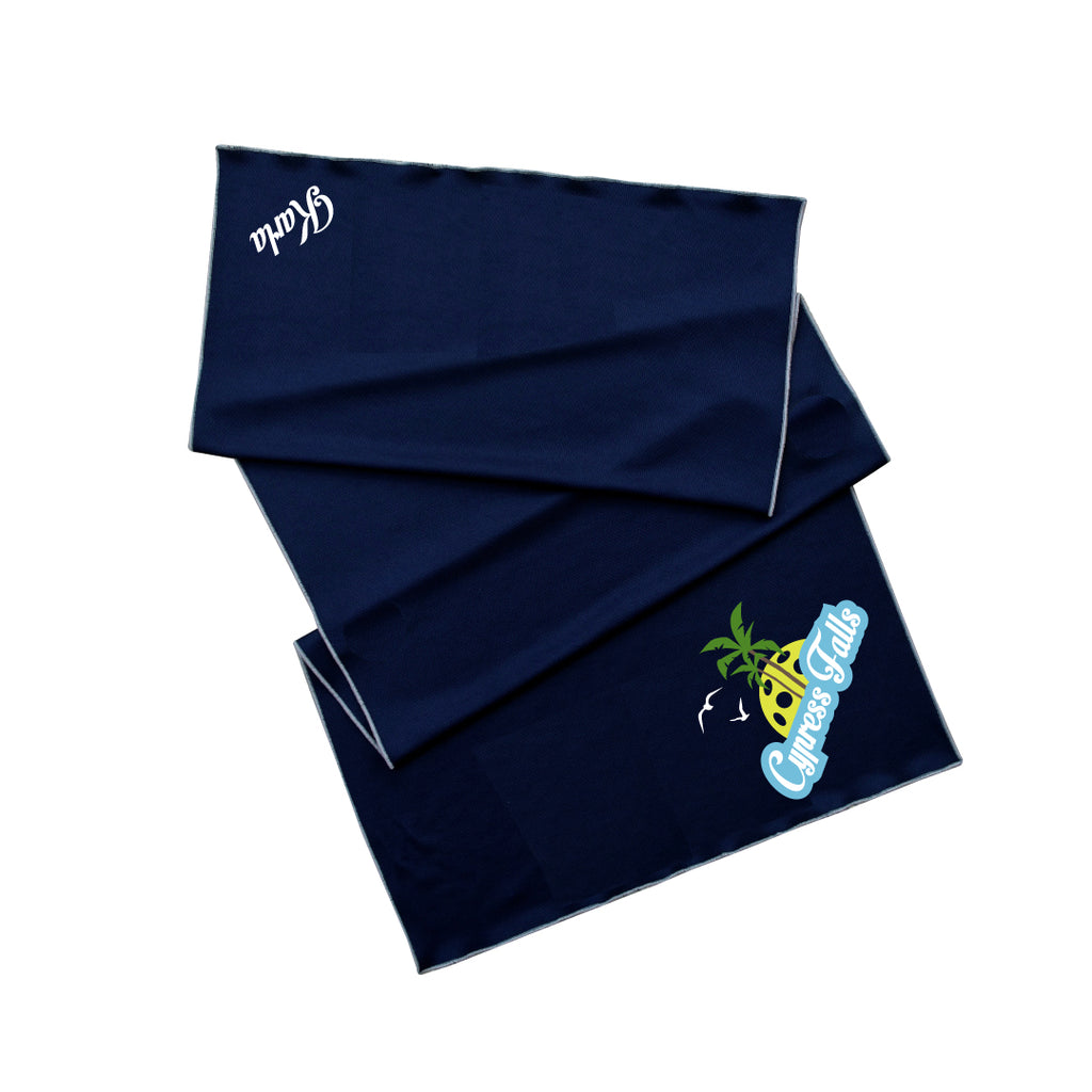 Cypress Falls Pickleball Cooling Towel - Athletic towel