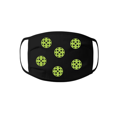 Face Mask - Pickleball 100% cotton Jersey Face Mask - Unisex Face Mask - Non Surgical