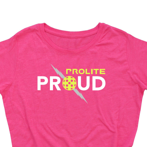 Official ProLite Ladies T-Shirt - ProLite Proud - Vintage Casual Cotton Blend