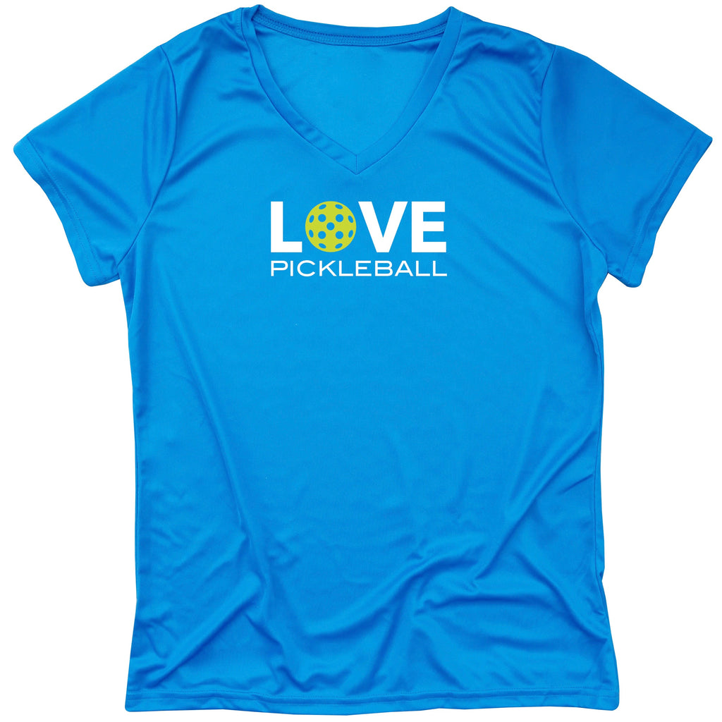 LOVE Pickleball Ladies T-Shirt - Ladies Performance T-shirt