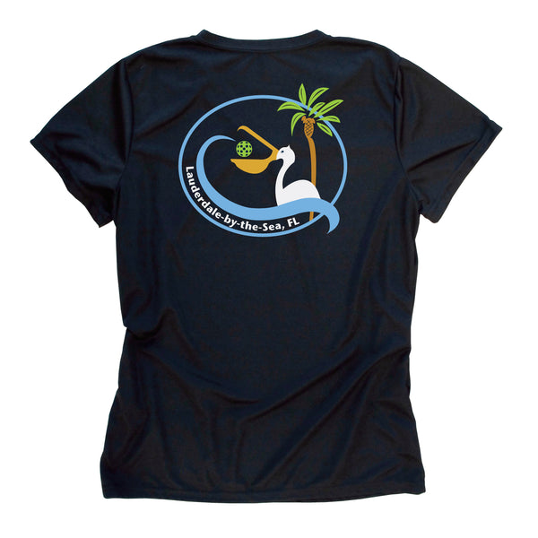 Custom Order for Jenny - Lauderdale-by-the-Sea, FL Ladies Pickleball Club T-Shirt - Performance Dri-Fit