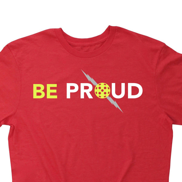 Official ProLite Men's T-Shirt - Be Proud - Vintage Casual Cotton Blend