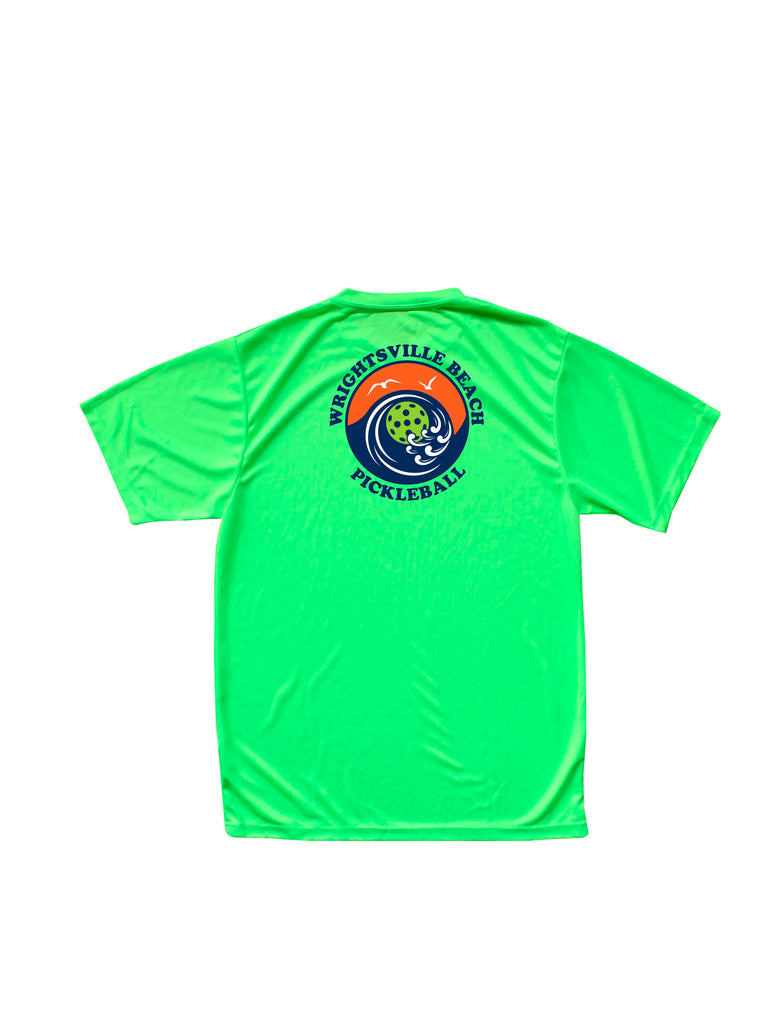 Wrightsville Beach Pickleball Men's Performance T-Shirt - Back Logo