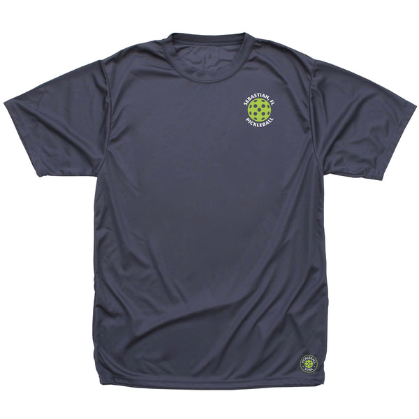 Sebastian, FL Men's Pickleball Club T-Shirt - Performance Dri-Fit
