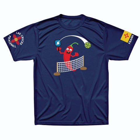 Las Cruces Men's Performance Pickleball T-Shirt
