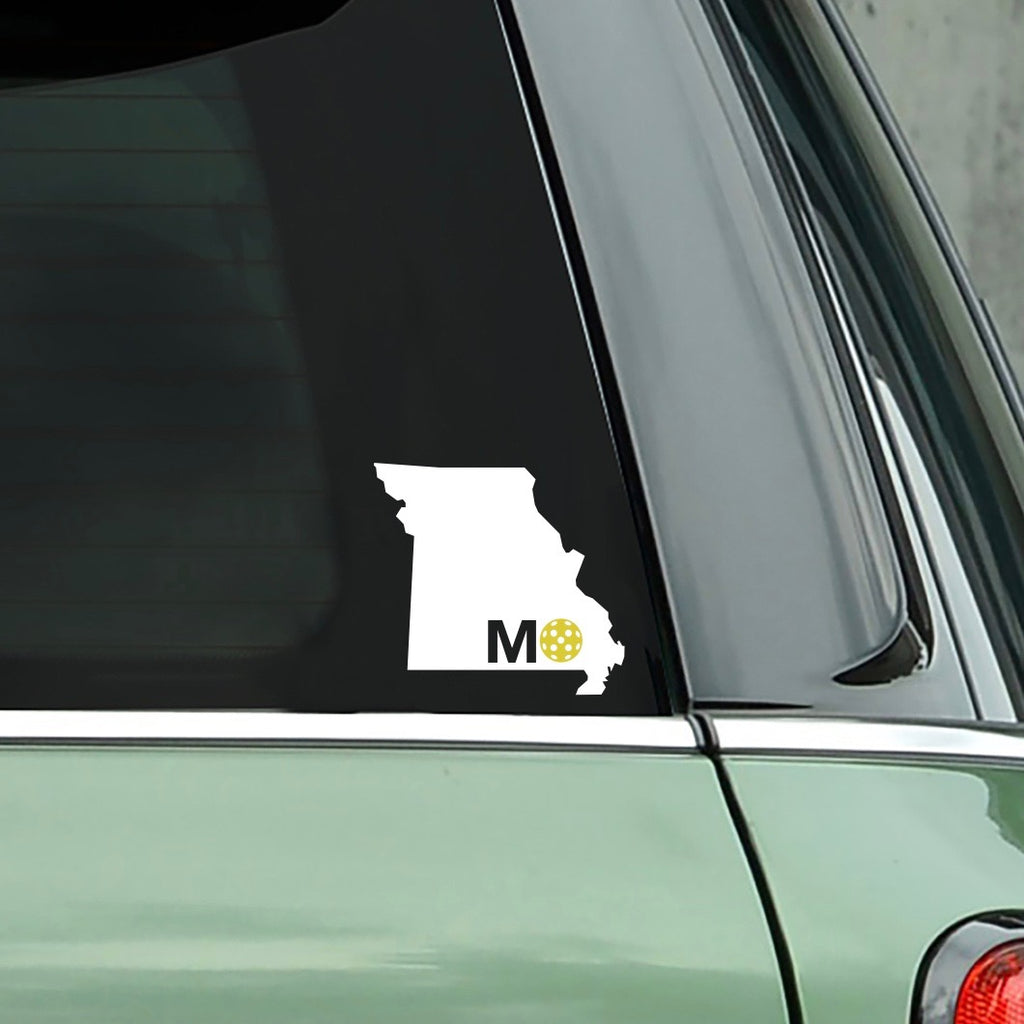 Missouri Pickleball Decal #3- Bumper Sticker