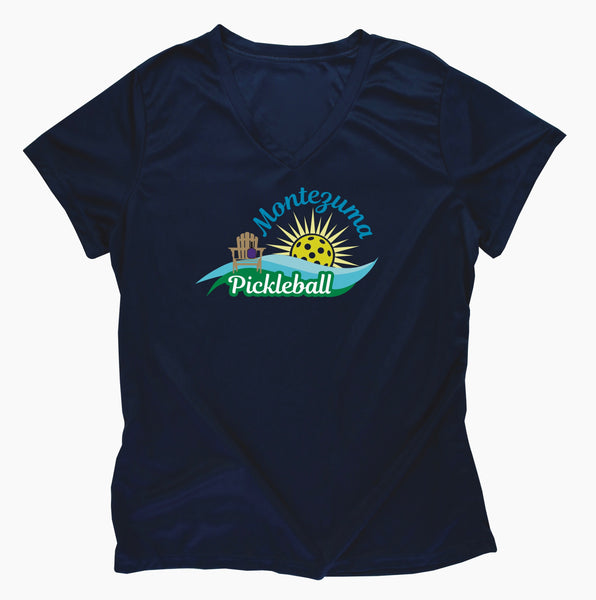 Montezuma Pickleball Club Ladies Performance T-Shirt