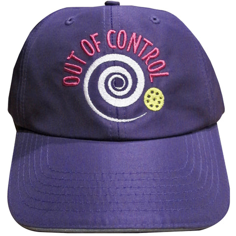Out of Control Pickleball Embroidered Performance Dri-Fit Hat by Pickleball Xtra