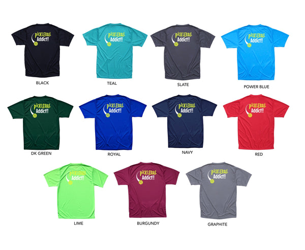 Pickleball Addict Men's Performance T-Shirt