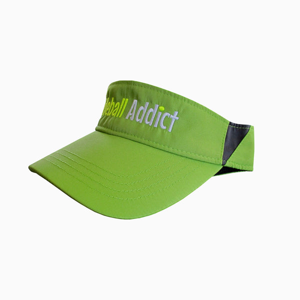 Pickleball Addict Embroidered Performance Dri-Fit Visor by Pickleball Xtra