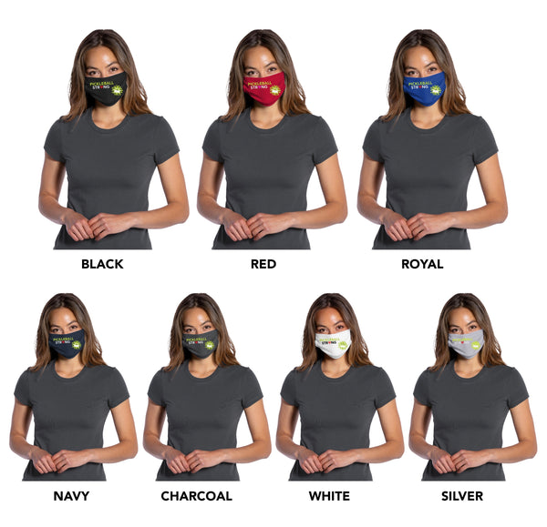 Face Mask - Pickleball Strong 100% cotton Jersey Face Mask - Unisex Face Mask - Non Surgical