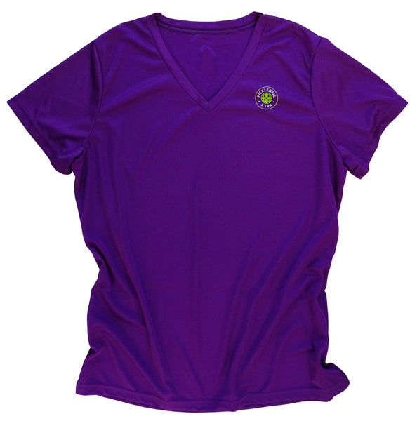 Aspen Pickleball Ladies Performance T-Shirt - Colorado Pickleball - Back Logo