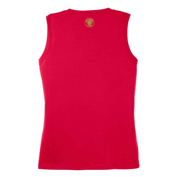 Aspen Pickleball Ladies Performance Sleeveless Tank - Front Logo