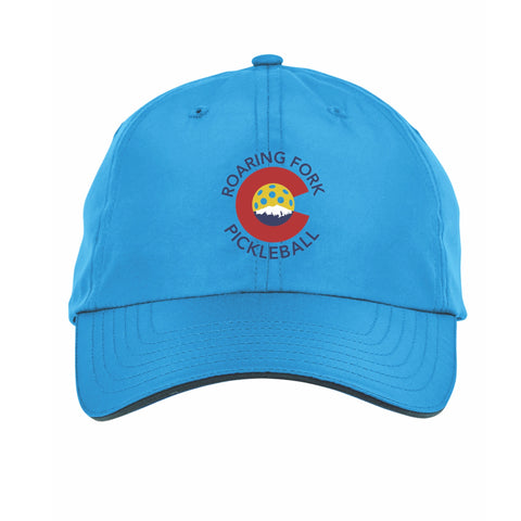 Roaring Fork Pickleball Embroidered Performance Dri-Fit Hat by Pickleball Xtra