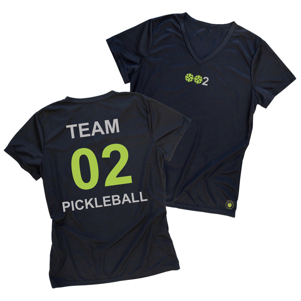 Ladies Pickleball Team T-Shirt - Personalized pickleball T-shirt - Performance Dri-Fit