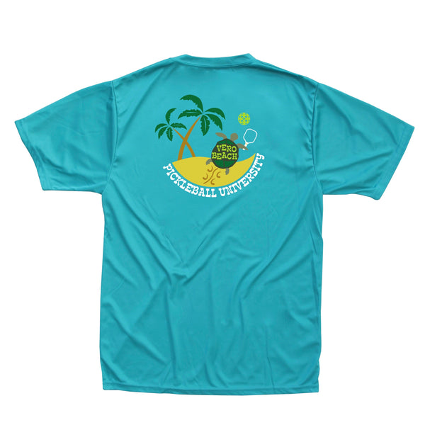 Vero Beach, FL - Pickleball University Club Men's Performance T-Shirt