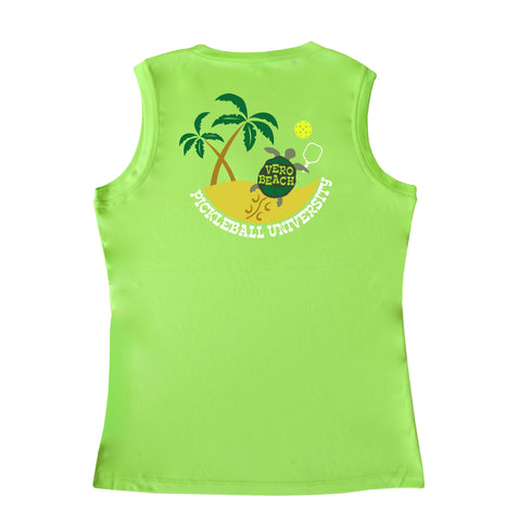 Vero Beach, FL - Pickleball University Club Ladies Performance Tank
