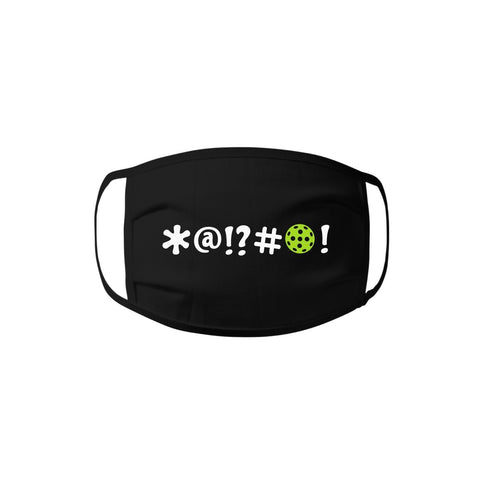 Face Mask - Bleep Bleep Pickleball 100% cotton Jersey Face Mask - Unisex Face Mask - Non Surgical