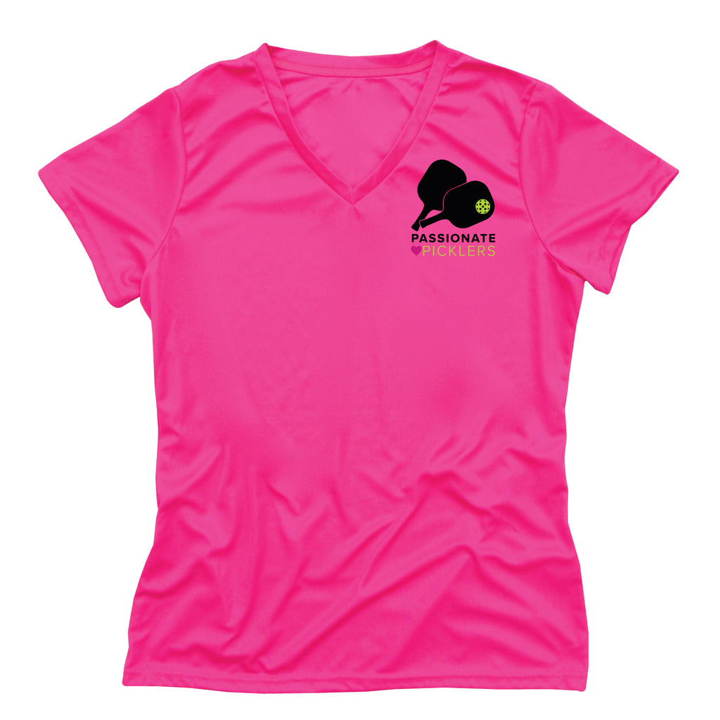 Passionate Picklers Ladies Performance T-Shirt