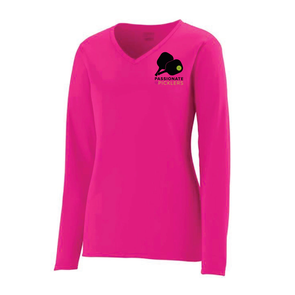 Passionate Picklers Ladies Performance Long Sleeve T-Shirt