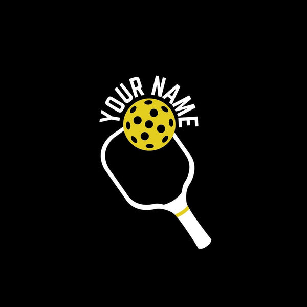 Personalized Pickleball Paddle Decal - Bumper Sticker -