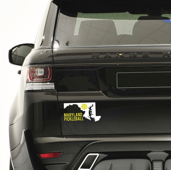 Maryland Pickleball Decal - Bumper Sticker