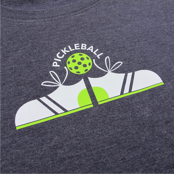 Sneakers Pickleball Women's T-Shirt - Vintage Casual Cotton Blend