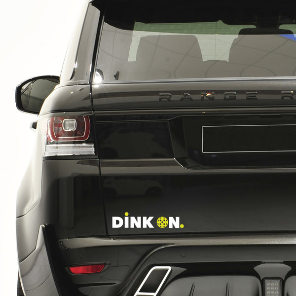 Dink On Pickleball Decal - Bumper Sticker