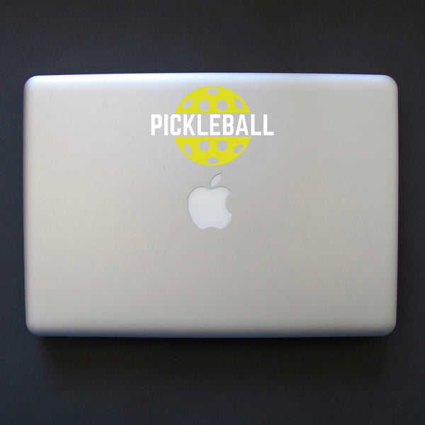 Pickleball Decal - Bumper Sticker