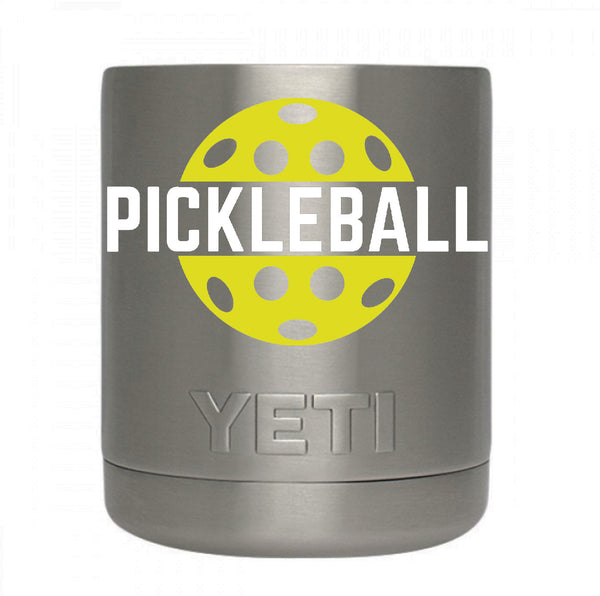 Pickleball Decal for your Yeti / Camelbak Water Bottle - Water Bottle Pickleball Decal