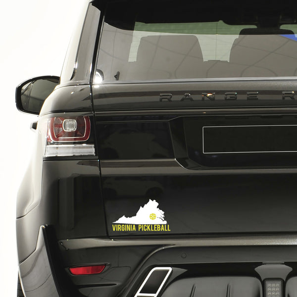 Virginia Pickleball Decal - Bumper Sticker
