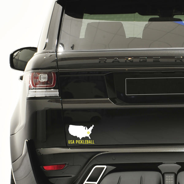 USA Pickleball Decal - Bumper Sticker