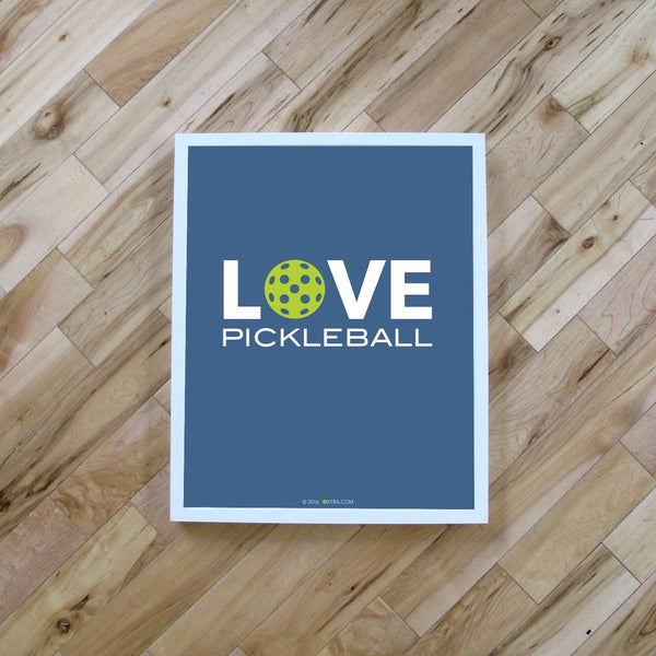 Love Pickleball Art Print - The Love Pickleball Poster
