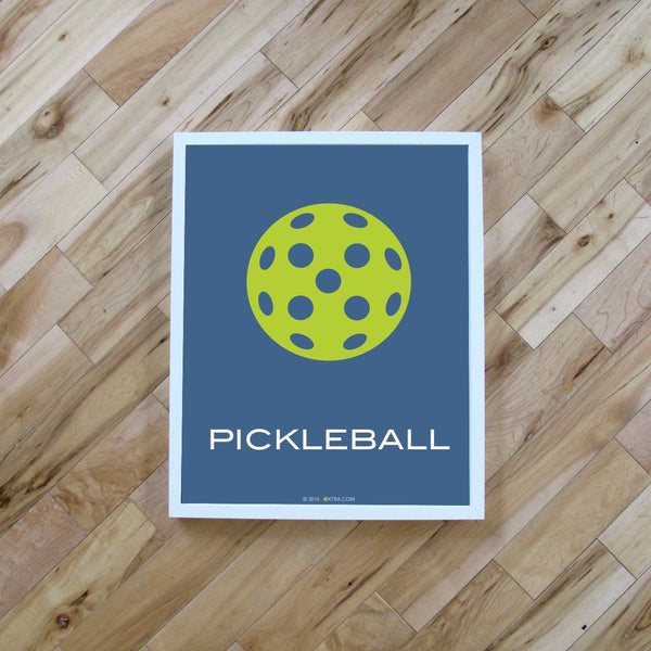 Pickleball Digital Print - Pickleball Poster