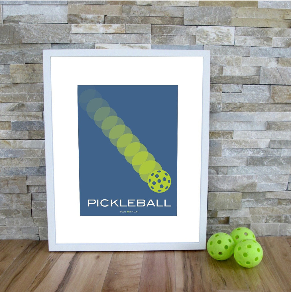 Pickleball Art Print - Pickleball Poster