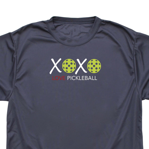 Valentine Pickleball XOXO Love Pickleball Men's T-Shirt