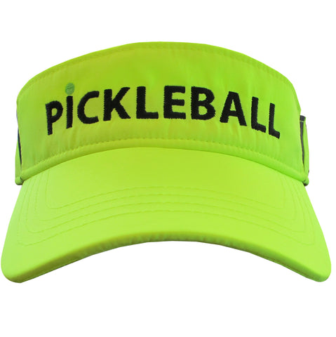 Pickleball Embroidered Performance Dri-Fit Visor by Pickleball Xtra