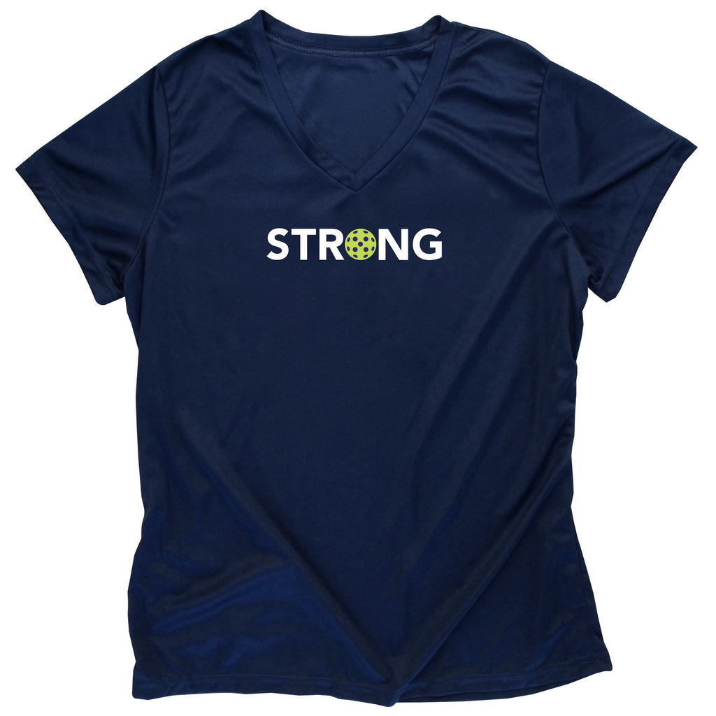 Strong Ladies Pickleball T-Shirt - Performance Dri-Fit