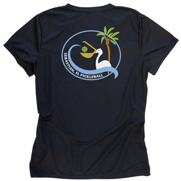 Sebastian, FL Ladies Pickleball Club T-Shirt - Performance Dri-Fit