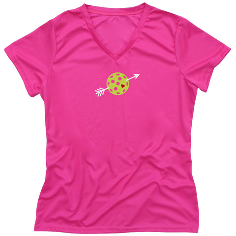 Cupid Pickleball Ladies T-Shirt - Performance Dri-Fit