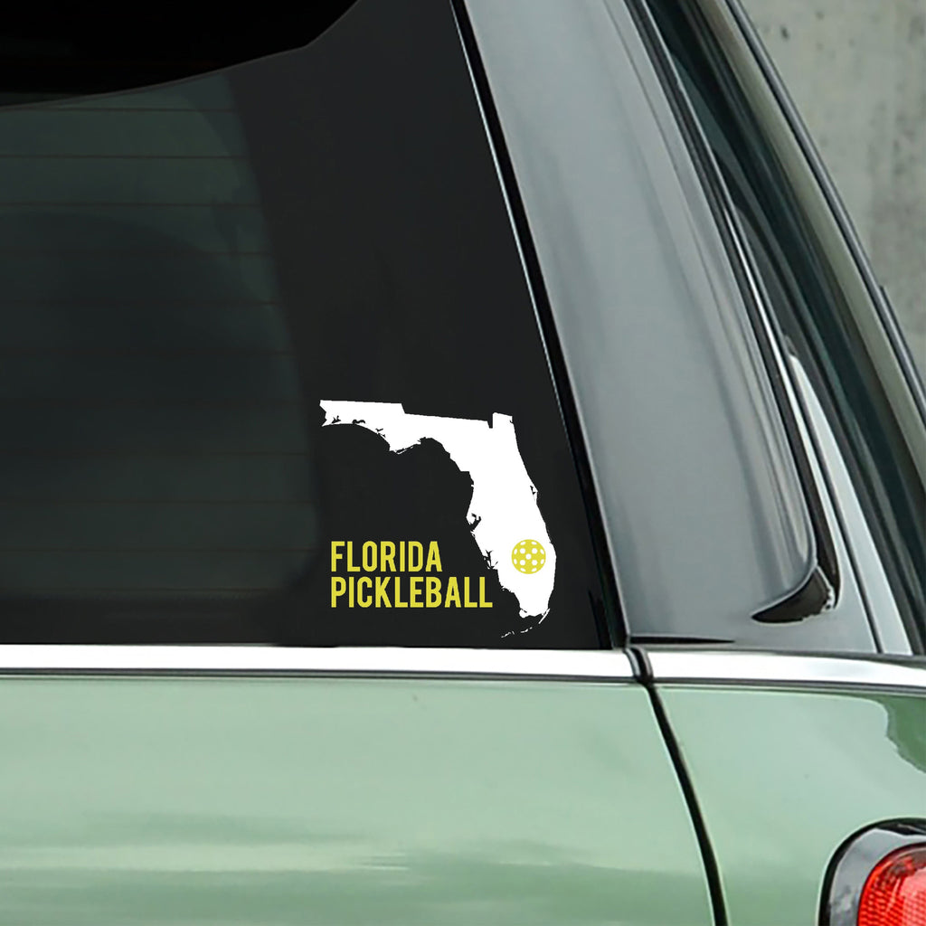 Florida Pickleball Decal - Bumper Sticker