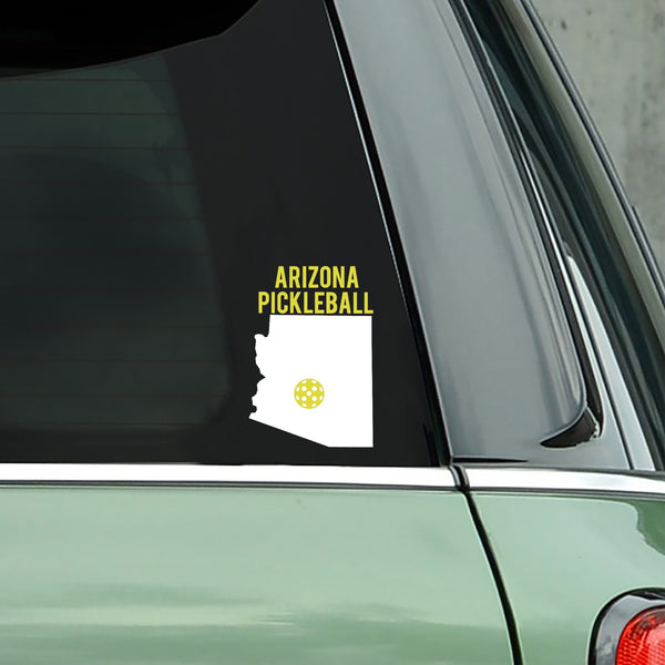 Arizona Pickleball Decal - Bumper Sticker