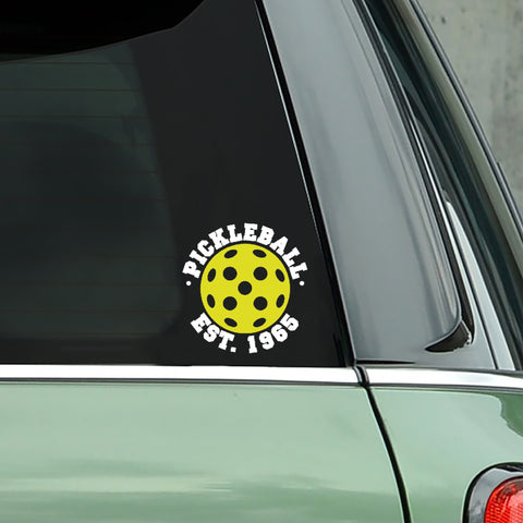 Pickleball Est. 1965 Decal - Bumper Sticker