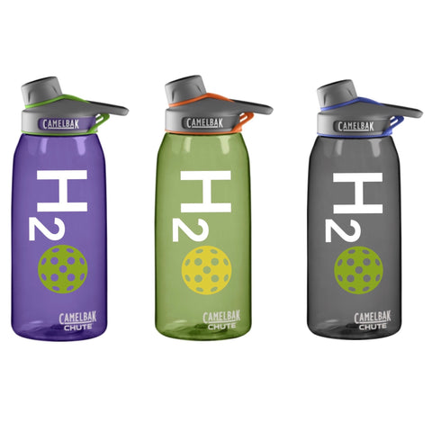 H2O Pickleball Decal for your Yeti / Camelbak Water Bottle - Water Bottle Pickleball Decal