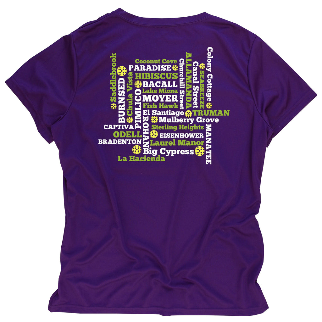 Pickleball Ladies T-Shirt - Performance Dri-Fit
