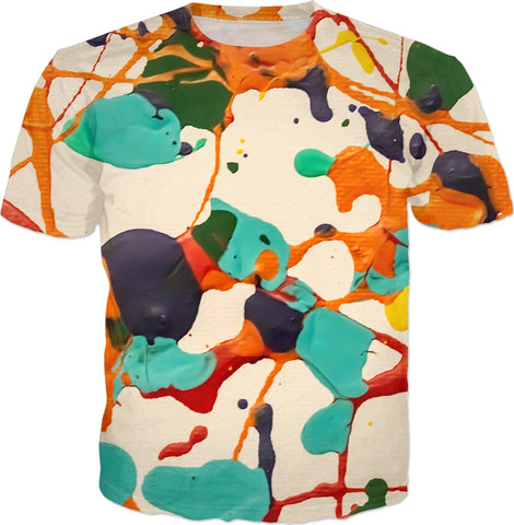 Realistic Abstract Art Painting T-shirt