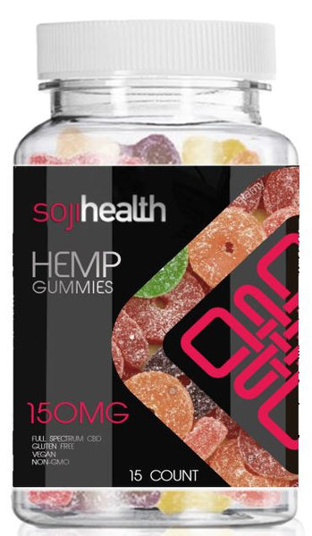 CBD Gummy Candy (150mg)  - Peach