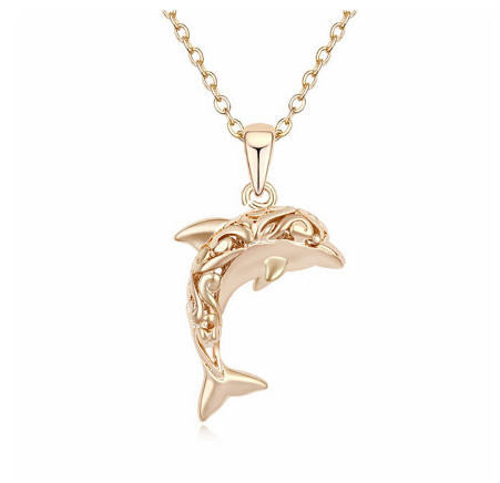 Dolphin Pendant & Necklace