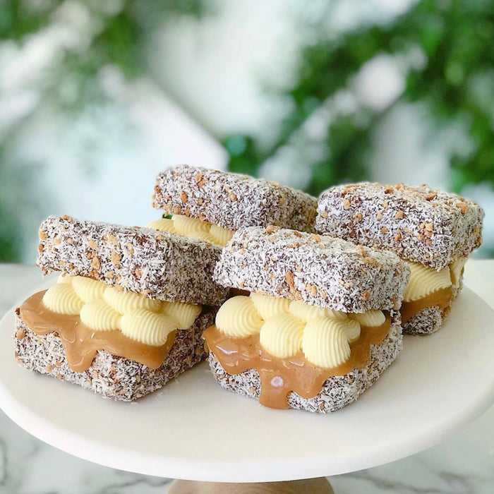 Salted Caramel Lamingtons (6pk)