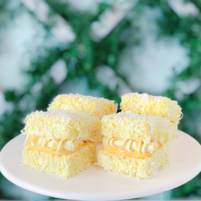 Lemon Meringue Lamingtons (6pk)